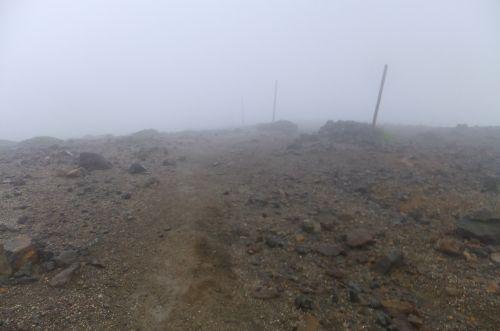 熊野岳への道