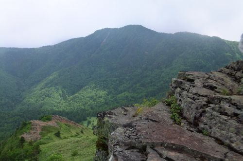 根子岳から四阿山