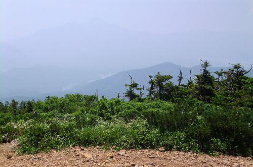 西大巓から磐梯山