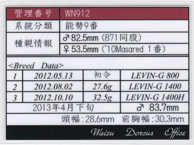 WN912ラベル
