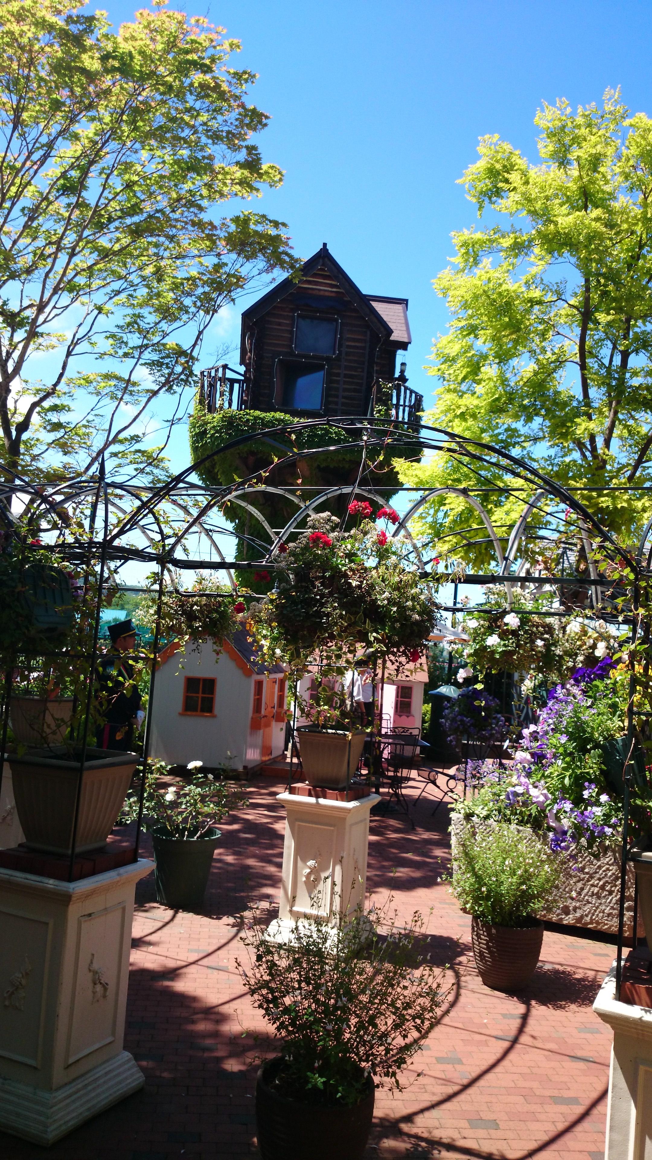 37、北海道 白い恋人館 庭