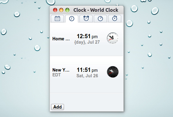 Clock By Google Chromeアプリ 世界時計