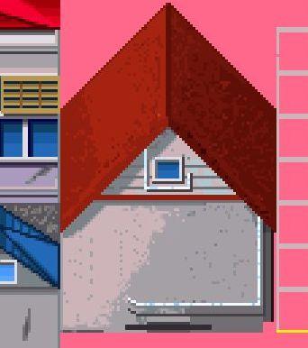 赤屋根 家