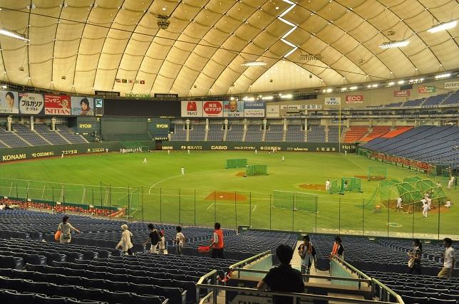 東京ドーム 試合前