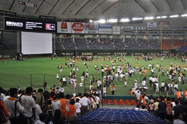 東京ドーム 試合終了後1