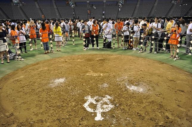 東京ドーム マウンド