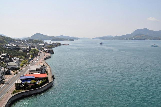 生口橋からの眺め