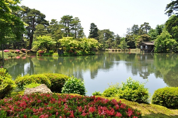 WHAT IS JAPAN   - 日本再発見の旅 --兼六園 霞ヶ池