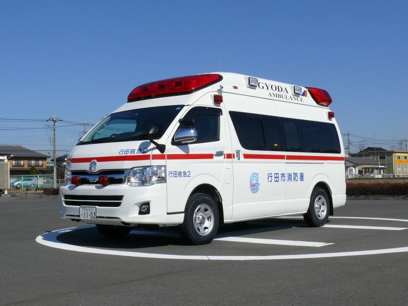 救急車 : こんなに種類があるん...