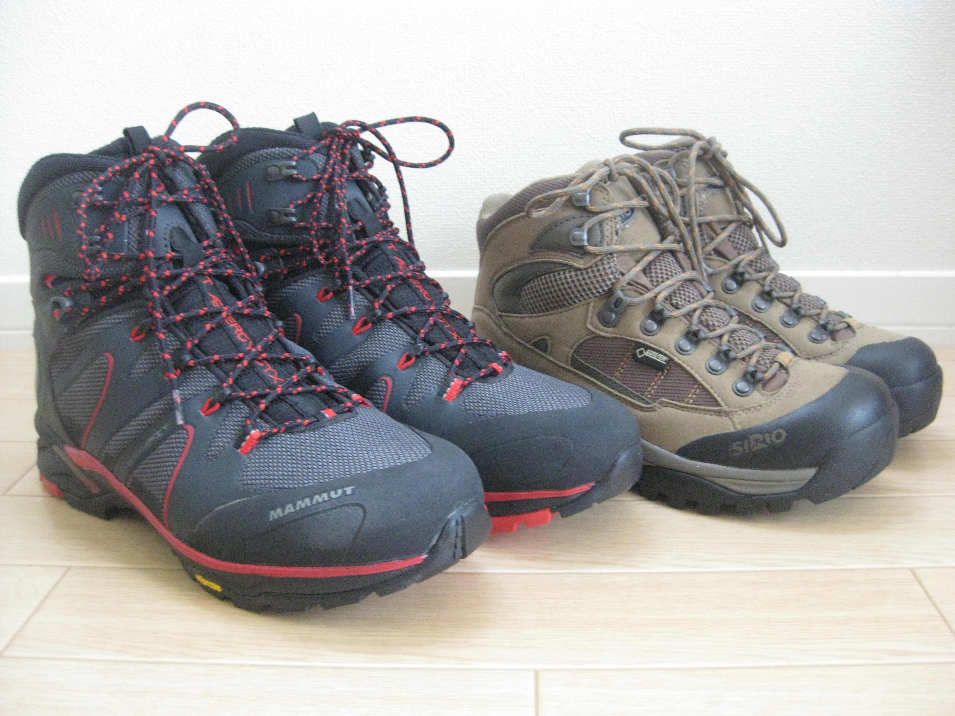 登山靴購入】登山始めます!