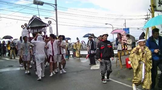 市川三郷御幸祭 御前神社へ