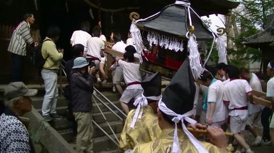 市川三郷御幸祭 終了