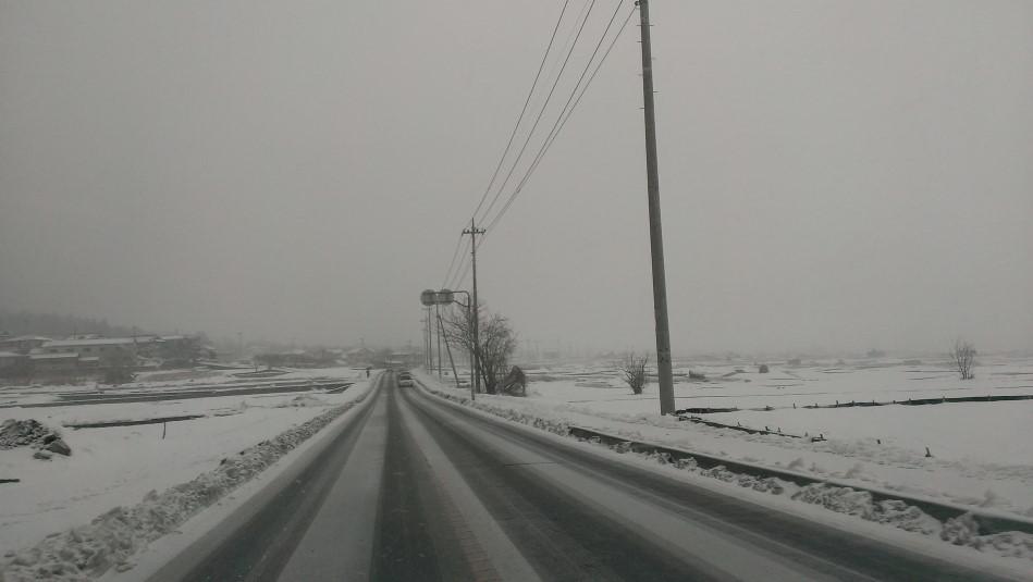 豪雪バレンタイン 降り始め