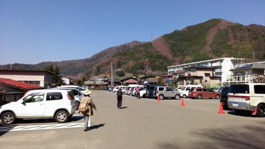 桜 浅間公園 駐車場