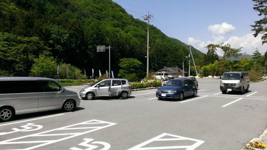 おごっそうや 駐車場