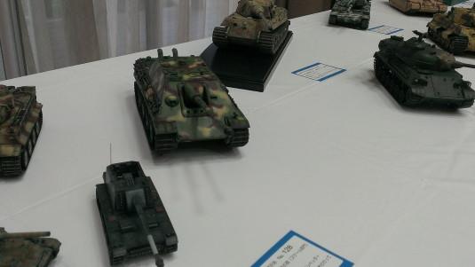 山梨市プラモ展示会 戦車
