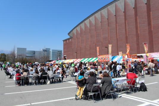 中小企業祭り 飲食コーナー