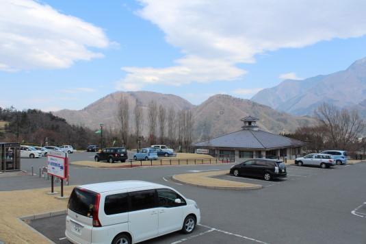 富士川クラフトパーク 梅 駐車場