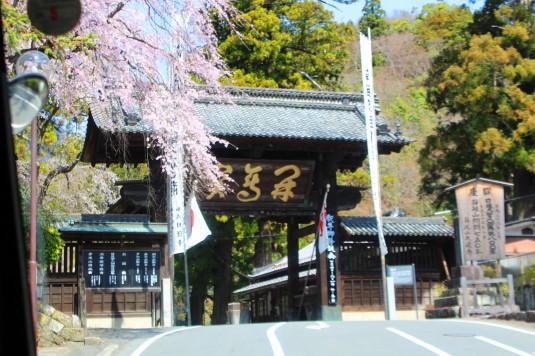 桜 久遠寺 総門