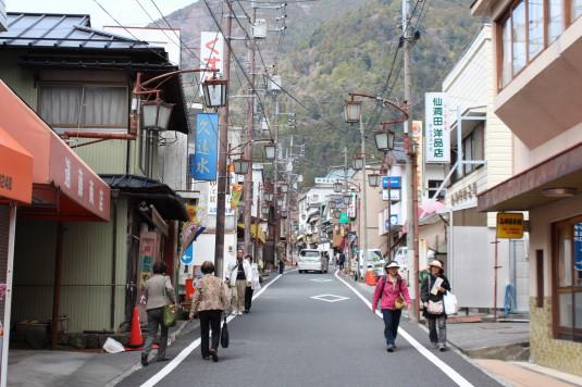 桜 久遠寺 門前町