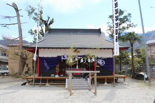 市川三郷御幸祭 御前神社