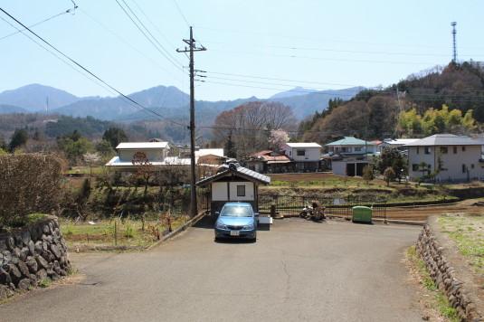 桜 勝山城跡 駐車場