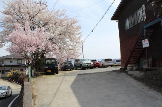桜 乙ヶ妻 駐車場