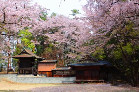 新府城跡 神社