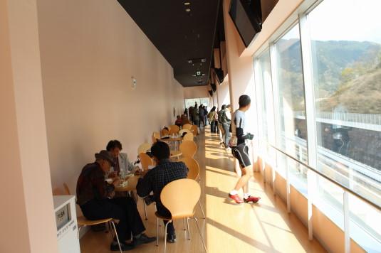 リニア見学センター 3階 飲食スペース