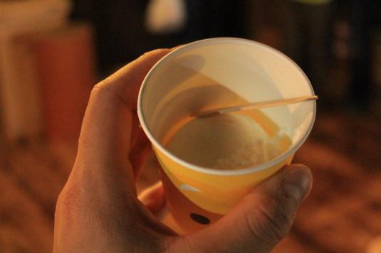 酒蔵マーケット お酒アイス