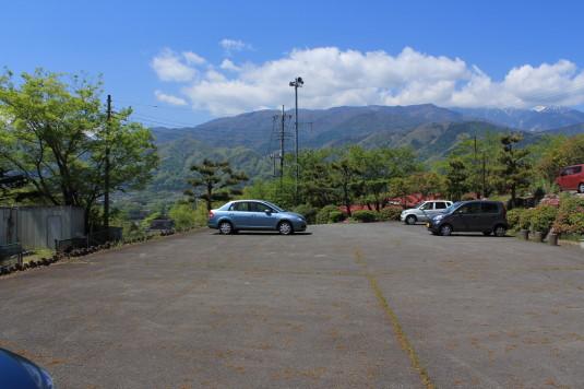 韮崎市民俗資料館 駐車場