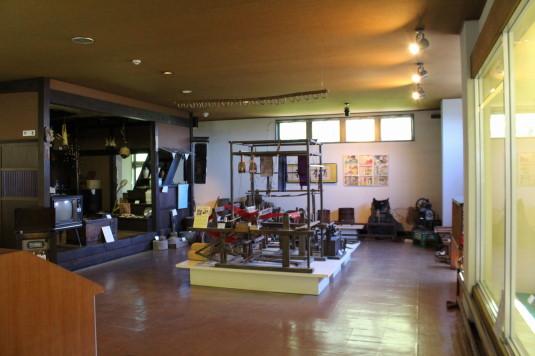 韮崎市民俗資料館 土偶 展示室