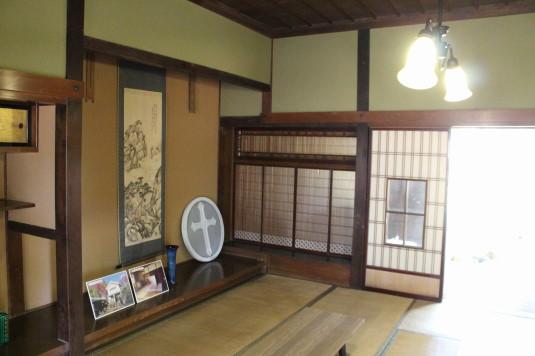 韮崎市民俗資料館 蔵座敷 現在