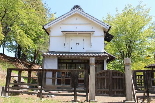 韮崎市民俗資料館 蔵座敷 外観