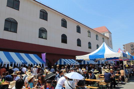 マルスワイン祭り 会場