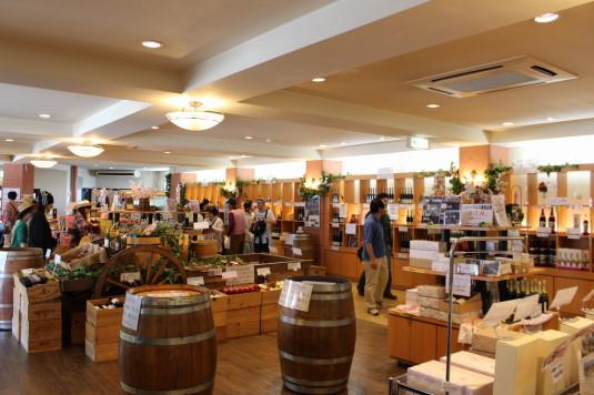 マルスワイン祭り 土産店