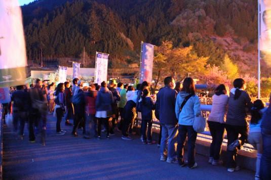 多摩源流祭り 夜の部 見学