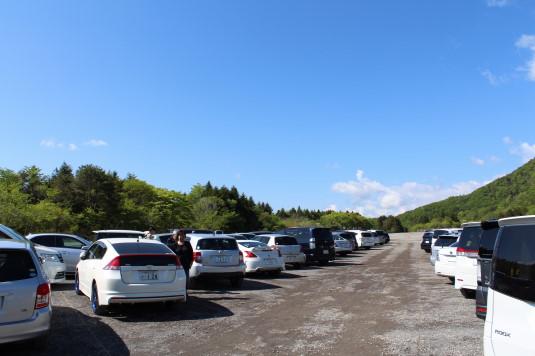 富士芝桜まつり 駐車場