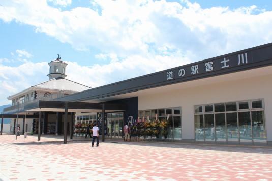 道の駅富士川 外観
