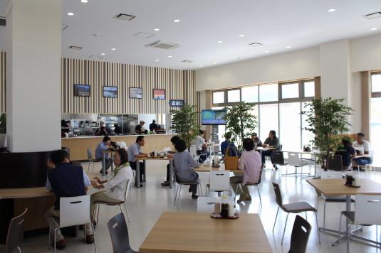 道の駅富士川 食堂