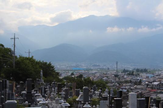 神明の花火 宝寿院 景色