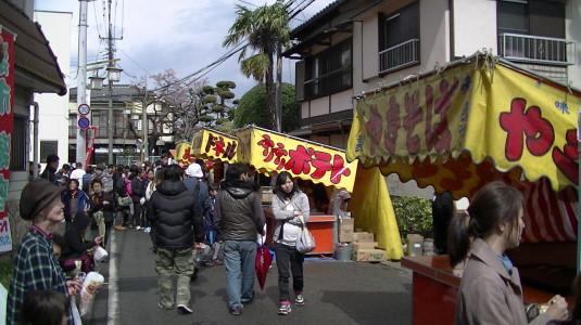 市川三郷御幸祭 御前神社周辺