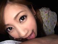 どこでもチ○ポを咥えちゃう、極上の痴女!! 前田かおり