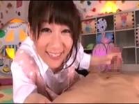 ロ○保母さんの愛情いっぱい手コキフェラ! 篠宮ゆり
