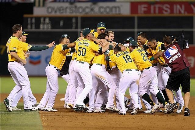 Oakland Athletics 2014後半戦