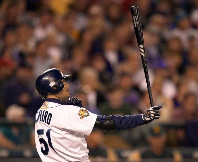 Ichiro 2001年デビュー