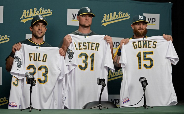 Jon Lester Oakland Athletics デビュー2