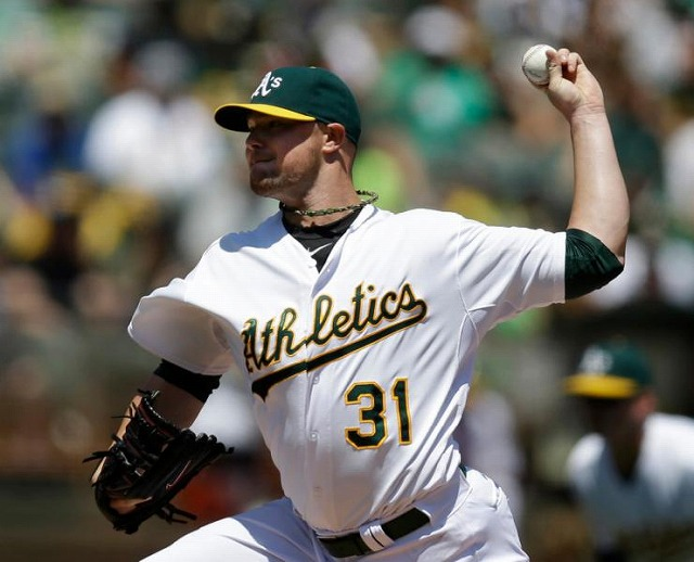 Jon Lester Oakland Athletics デビュー5