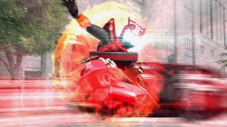 新ライダー『仮面ライダー ドライブ』1話から面白すぎる!タイヤコウカーン! トドメのライダーキックもかっけぇぇ~これは子供受けするわ