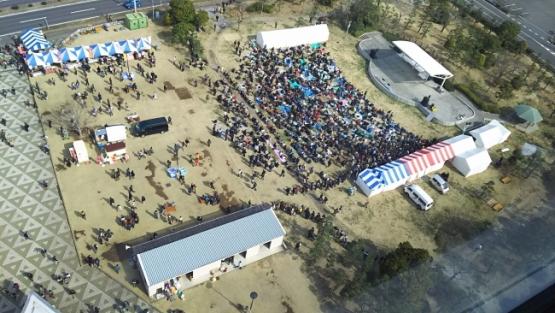 「大洗春祭り 海楽フェスタ」来場者が昨年から3万人増えて8万人!!!ガルパンおじさん増えすぎいいいいいいいい